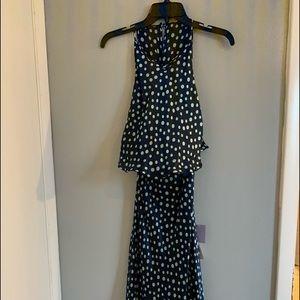 Vera wang silky dress